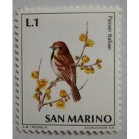 Сан-Марино. Воробей