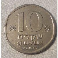 Израиль 10 шекелей, 1982 KM# 119