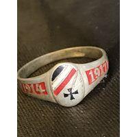 Перстень в серебре (800) Германия 1 Мировая