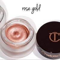 Charlotte Tilbury Eyes to Mesmerise кремовые тени Rose Gold