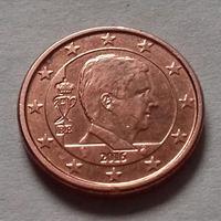 1 евроцент, Бельгия 2016 г., AU