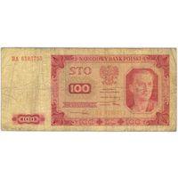100 злотых 1948 г