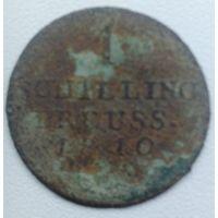 1 шилинг 1810