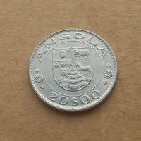 Ангола португальская, 20 эскудо 1971 г., медно-никель