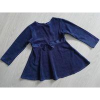 Платье на 4-5лет/104-110см