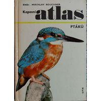 ATLAS  PTAKU.  Карманный атлас  птиц на чешском языке.