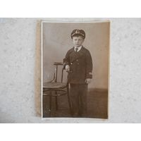 Фотография, мальчик в морской форме