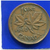 Канада 1 цент 1948