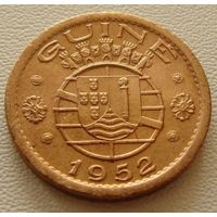 """Гвинея - Бисау """"Португальская"""".  50 сентаво 1952 год  KM#8"""
