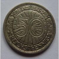 Германия. 50 пфеннигов 1927г.А.