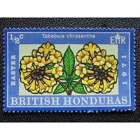 Британский Гондурас. 1971 г. Флора.