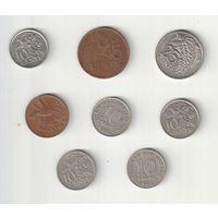 Набор монет Тринидада и Тобаго