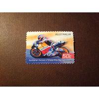 Австралия 2004 г. Австралийские герои Гран-при по мотогонкам.Мик Дуэн.