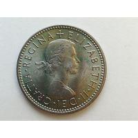 1 шиллинг 1965 года. Монета А2-2-1