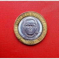 98-26 Доминиканская Республика, 5 песо 2002 г.