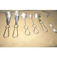 Инструмент медицинский (коллекция), лот No1: зеркало-подъемник. 6 видов
