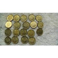 Монета 5 руб Николай II 1908г. золотой из коллекции. (20 мм) распродажа