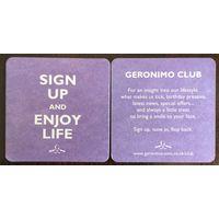 Подставка под пиво Geronimo Club /Великобритания/