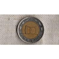 Венгрия 100 форинтов 1998/биметалл(NS)