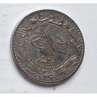 """Османская империя 20 пар, 1327 (1909) цифра """"7"""" (6) 5-2-9"""