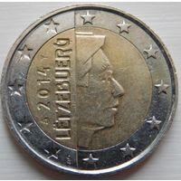 Люксембург 2 евро 2014 год.