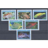 [350] Бенин 1997.Фауна.Рыбы.