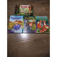 4 книги на немецком языке
