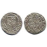 Денарий 1540 KB, Венгрия, Фердинанд I. Коллекционное состояние