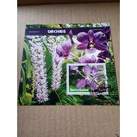 Сьерра-Леоне 2020. Цветы. Орхидеи