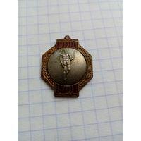 Знак первенства БССР 1950 года, первое место.