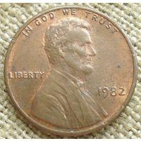 1 цент 1982 США
