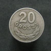 Польша 20 грошей CuNi 1949