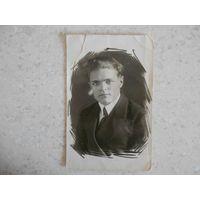 Фотография, десятиклассник, 25 марта 1939 г.