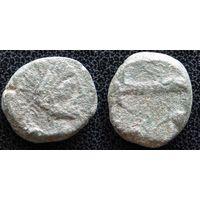 YS: Древняя Греция, обол, Пантикапей, 150-140 г. до н.э.