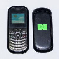 139 Телефон Alcatel OT-103. По запчастям, разборка