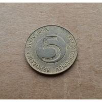 Словения, 5 толаров 1996 г.