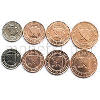 Босния и Герцеговина 4 монеты 2007-2013 годов