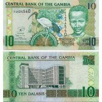Гамбия. 10 даласи 2013 [UNC]