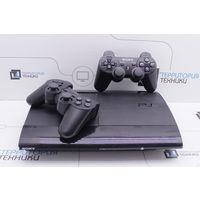 Игровая консоль Sony PlayStation 3 Super Slim 500GB (прошита) + 2 геймпада. Гарантия.
