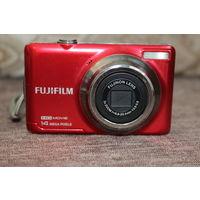 Цифровой фотоаппарат Б/У, FUJIFILM JV 500, RED, рабочий, без флешки.