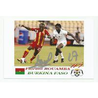Florent Rouamba(Буркина-Фасо). Фотография с живым автографом #2