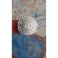 410# 1 франк 1977. франция