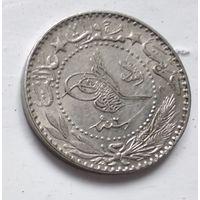 """Османская империя 20 пар, 1327 (1909) цифра """"7"""" (6) 5-2-11"""