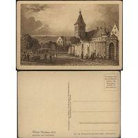 Немецкая открытка кон.XIX-го нач.ХХ-го века. Графика?