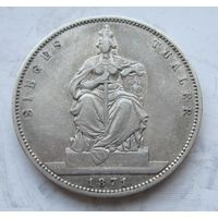 Германия, Пруссия, талер, 1871, серебро