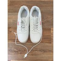 Белые светящиеся кроссовки (LED)