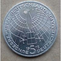 ФРГ 5 марок 1973