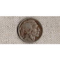 США 5 центов 1936/Бизон Индеец/(Sh)