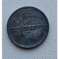 Германия,нотгельд Bonn-Siegkreis 5 пфеннигов 1919 4-4-30