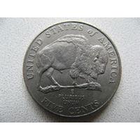 США 5 центов 2005 г. (Р) 200 лет экспедиции Льюиса и Кларка - Выход к океану. (юбилейная)